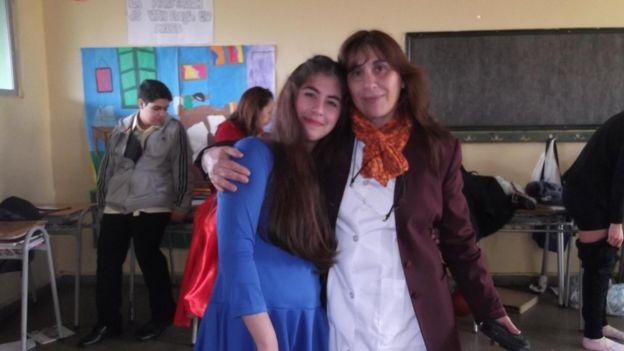 Paula e a mãe