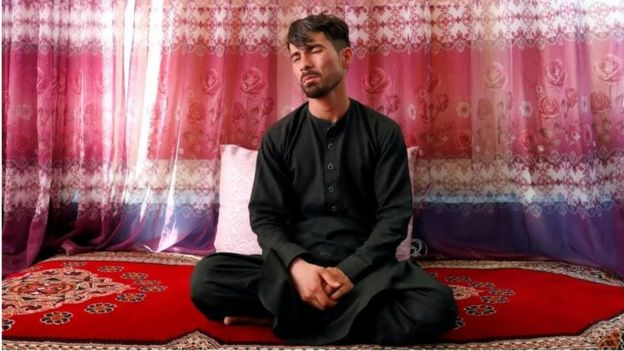 Mirwais Elmi at his home