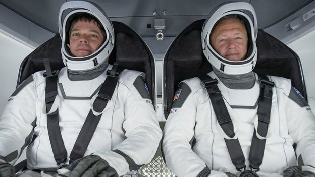 Bob Behnken y Doug Hurley