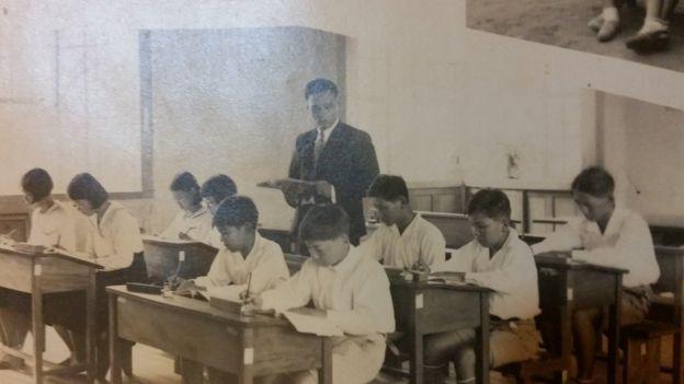 Escola para imigrantes