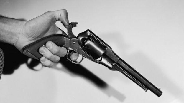 Pistola calibre .36