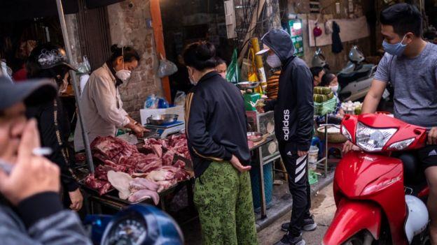 Giá thịt có tăng trong mùa dịch ở một số nơi
