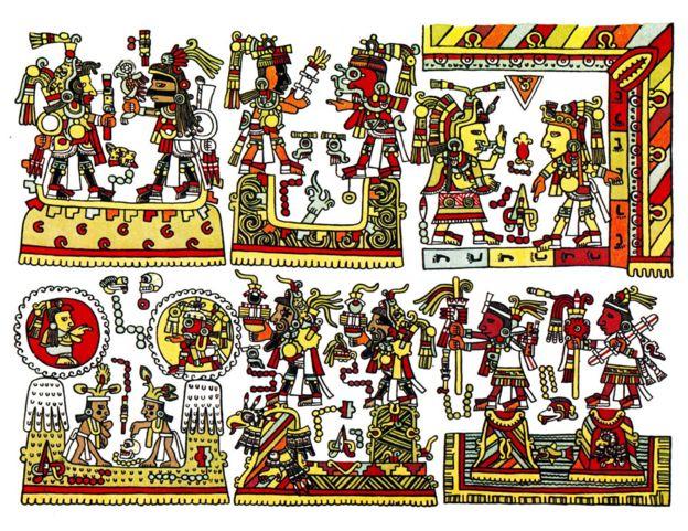 El Codex Zouche-Nuttall es un documento de pictografía mixteca precolombino del siglo XIV doblado en acordeón. El códice deriva su nombre de Zelia Nuttall, quien lo publicó por primera vez en 1902, y de la baronesa Zouche, su donante.
