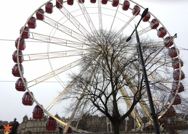 Big Wheel in Edinburgh