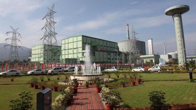 planta nuclear en India