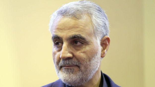 Qasem Soleimani.