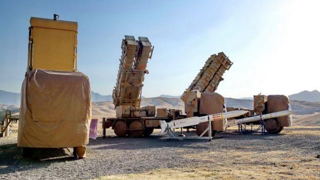 آرایه فعال فازی، پرتابگر موشک صیاد ۲ سی و پرتابگر موشک صیاد ۳سی سامانه پدافندی ۱۵ خرداد