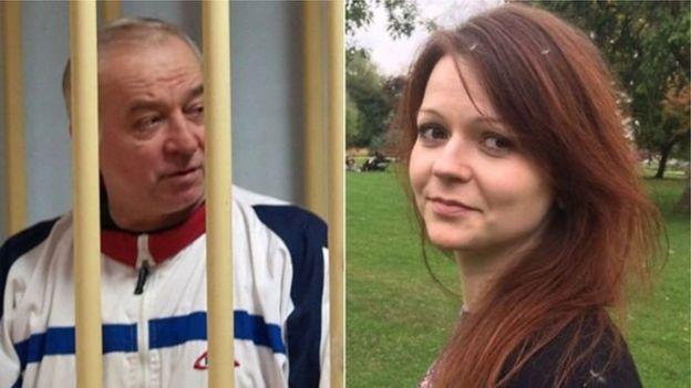 謝爾蓋·斯克里帕爾(Sergei Skripal)和他的女兒尤利亞