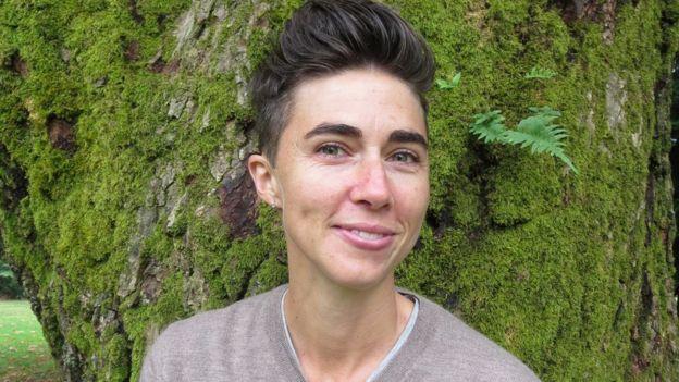 Katrina Spade, directora ejecutiva y fundadora de Recompose