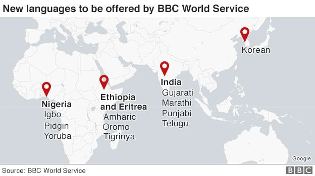 BBC launches services for Ethiopia and Eritrea - BBC News