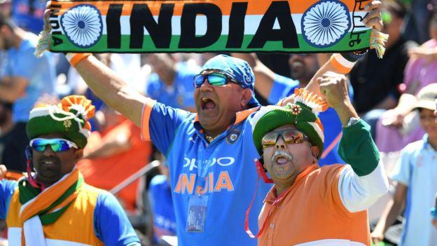 انڈیا کے شائقین