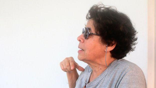 Vera Ferreira, jornalista e neta de lampião