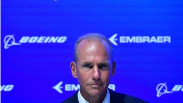 Boeing CEO Dennis Muilenburg, 4 April 2019