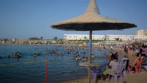 غردقه یکی از مناطق ساحلی محبوب گردشگران بشمار میرود