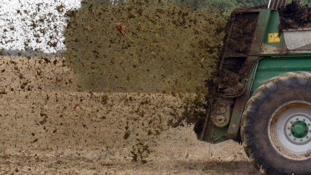 Apliación de fertilizantes