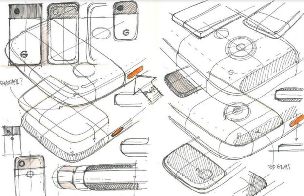 Bocetos de Pixel (Foto: Google).