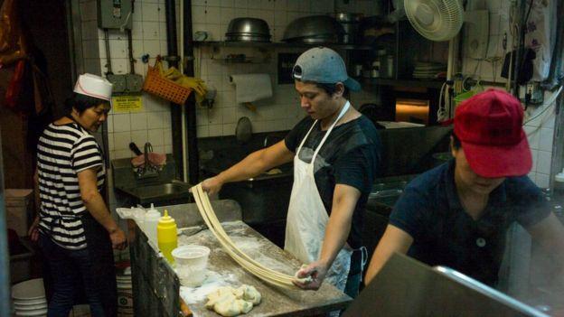 位于美国纽约的一家华人中餐厅。