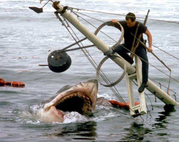 Cena de 'Tubarão'