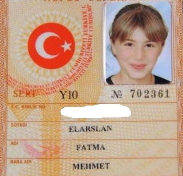 Fatma Elarslan, 12 Nisan 2003 doğumlu