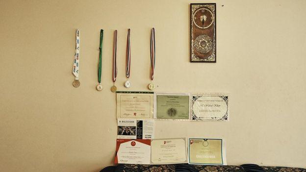 Medallas y certificados