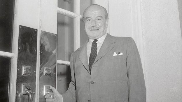 Carlos Dávila durante su época como secretario general de la OEA