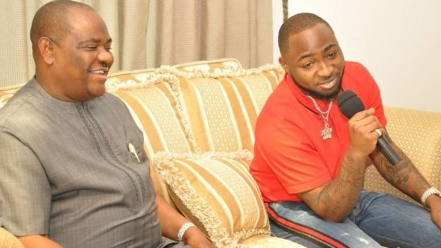 Davido wan develop young artistes for Rivers State - BBC