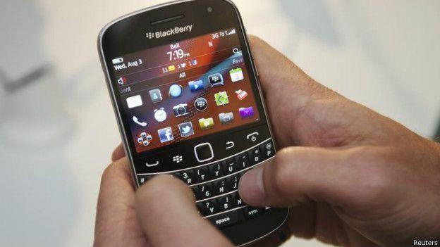 Simu ya Blackberry