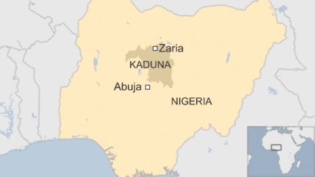 Map of Zaria