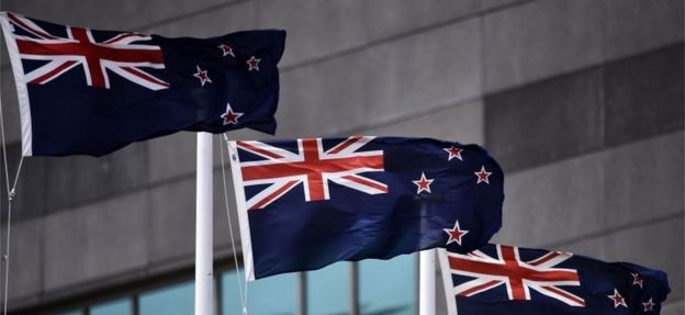 The tangled tale of New Zealand's flag debate - BBC News