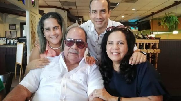 Bascaro ate a full Cuban breakfast with his family after his release from jail