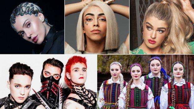 Eurovision 2019: Around the contest in 20 lyrics - BBC News