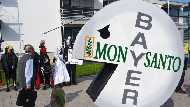 Bayer protesta