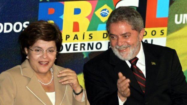Lula wuxuu ahaa maskaxdii Dilma Rousseff ay ku shaqaynaysay