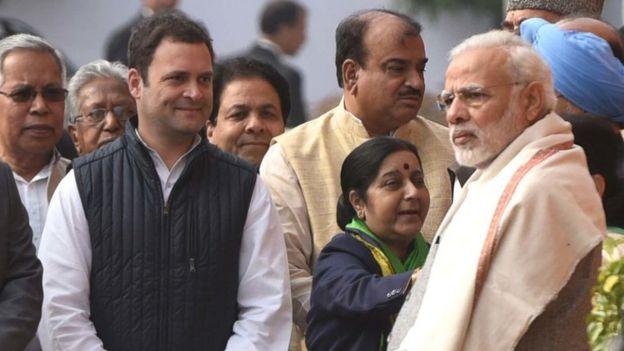 राहुल गांधी, पीएम मोदी, सुष्मा स्वराज