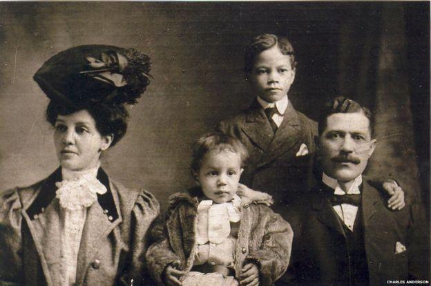 William Nesbit with family