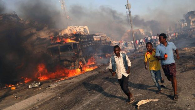 Somalia: At least 30 dead in Mogadishu blasts