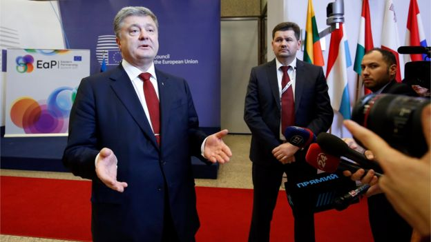 Європейські чиновники невдоволені тим, що багато обіцянок президента Петра Порошенка грубо порушуються