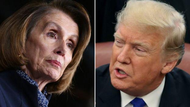 Nancy Pelosi uyoboye inteko umutwe w'abadepite yashyigikiye igikorwa cyo kweguza Trump kiri gukorwa
