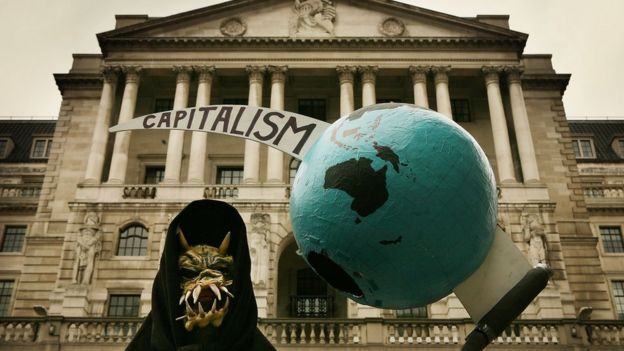 Protesta anticapitalismo