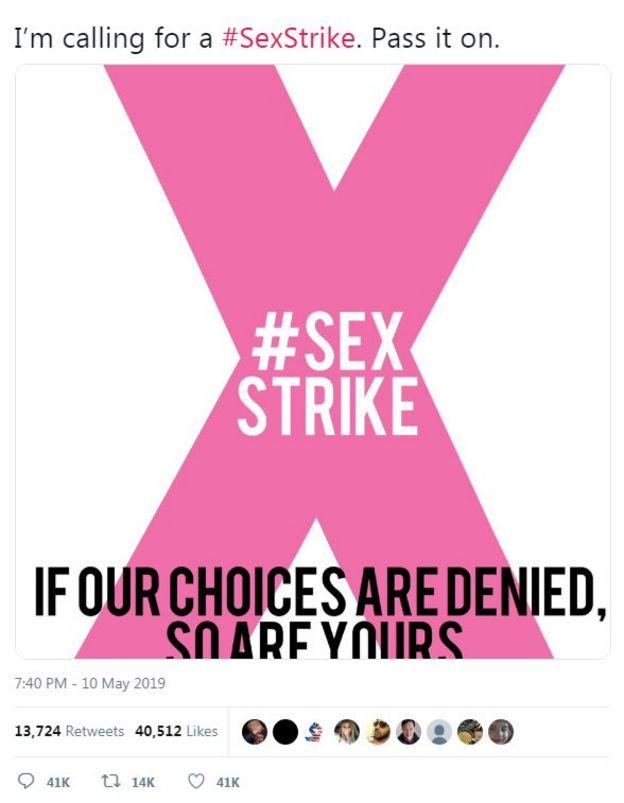 好莱坞女星艾莉莎·米兰诺的推特话题:性罢工。