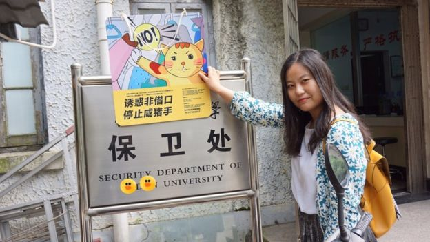 Xie Shuang in Shanghai