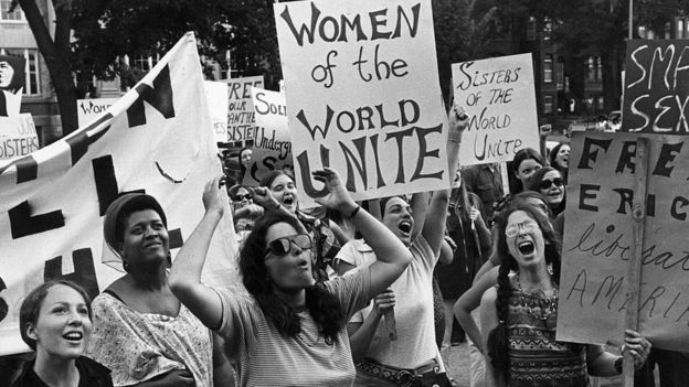 Marcha en Washington en 1970