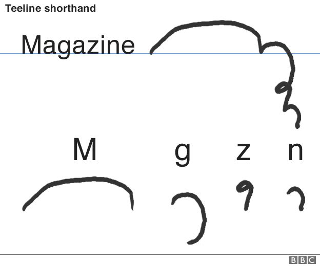 Is The Art Of Shorthand Dying Bbc News