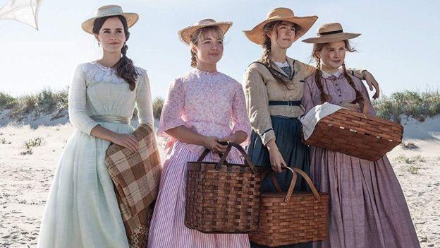 """Las protagonistas de """"Mujercitas"""", dirigida por Greta Gerwig."""