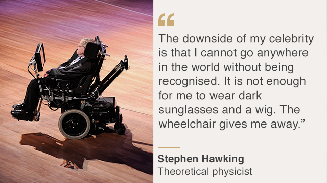 Stephen Hawking Dies Scientists Most Memorable Quotes Bbc News