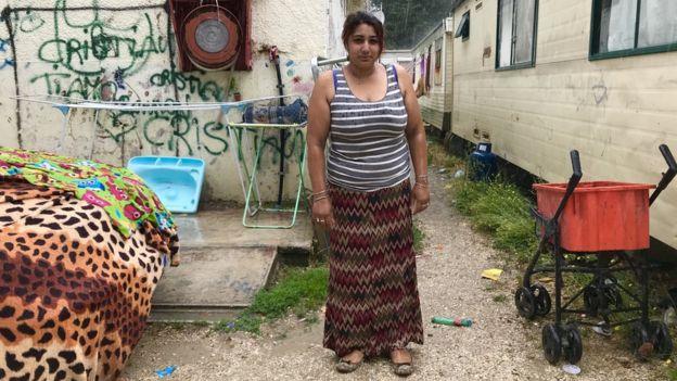 Zanepa Mehmeti, 23, belongs to the Roma community, was born in Rome, Italy.