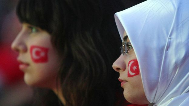 Mujeres turcas