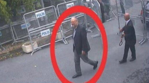 هذه آخر مرة يشاهد فيها خاشقجي وهو يدخل القنصلية