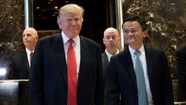 Jack Ma Rows Back On Pledge To Create One Million Us Jobs Bbc News