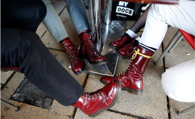 4cd167f1650 What's up, Doc? The enduring appeal of Dr Martens - BBC News